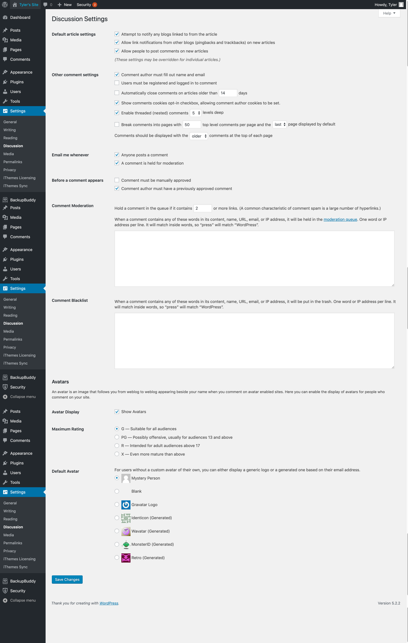 Discussion_Settings___Tyler_s_Dev_Site___WordPress.png